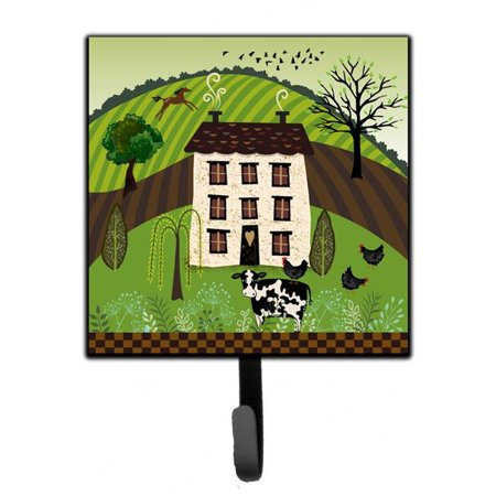 Carolines Treasures VHA3024SH4 Folk Art Country House Leash or Key Holder