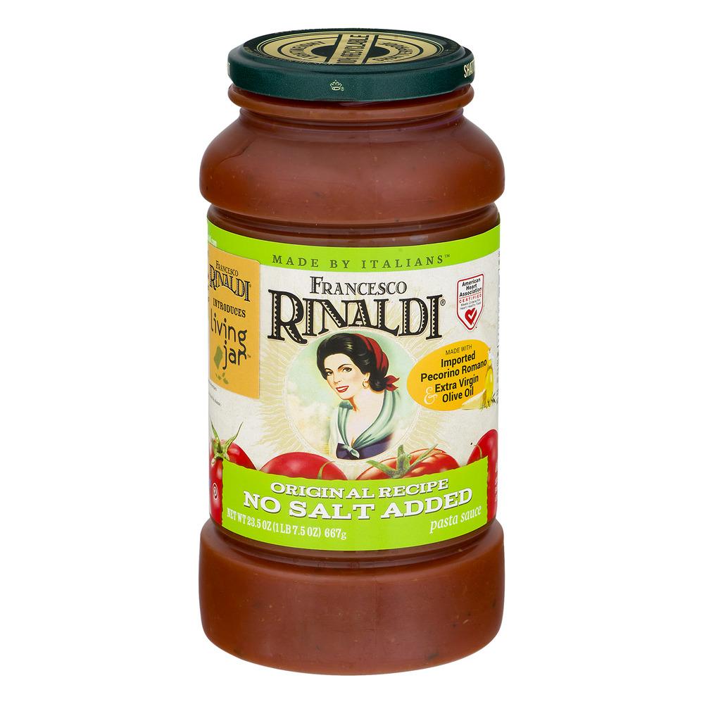 Francesco Rinaldi Pasta Sauce Original Recipe No Salt Added, 23.5 OZ