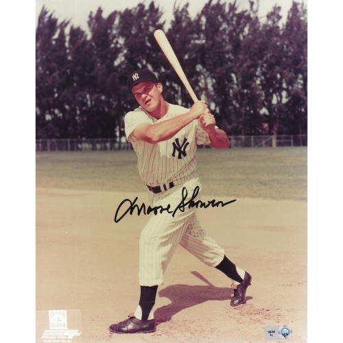 "Moose Skowron New York Yankees Fanatics Authentic Autographed 8"" x 10"" Pose Photograph - No Size"