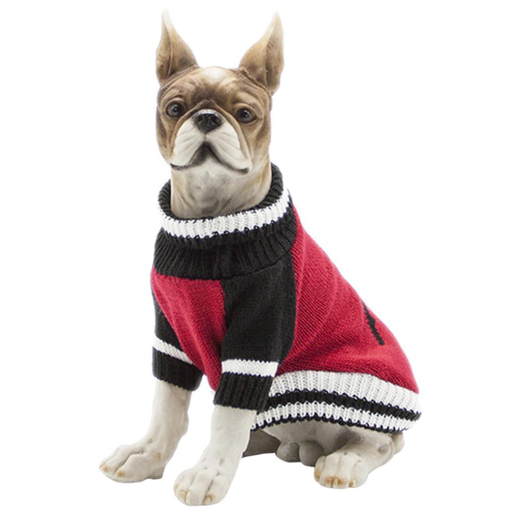 Dog Sweater Legendog Crew Neck Breathable Comfortable Dog Apparel