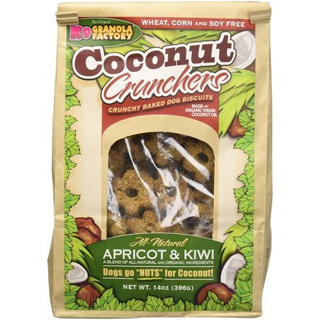 K9 Granola Factory (Apricot And Kiwi Coconut Crunchers, Packed Full Of Flavor With Apricot And Kiwi Offering An Excellent Source Of Vitamin B And C By K9 Granola Factory )