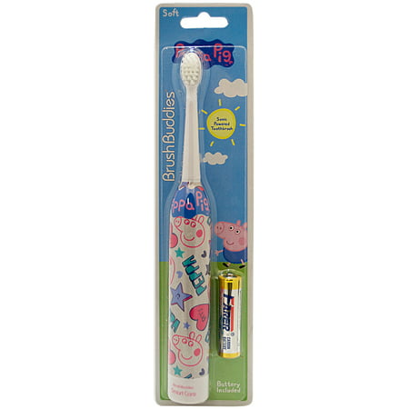 Peppa Pig Sonic Powered Toothbrush by Brush Buddies