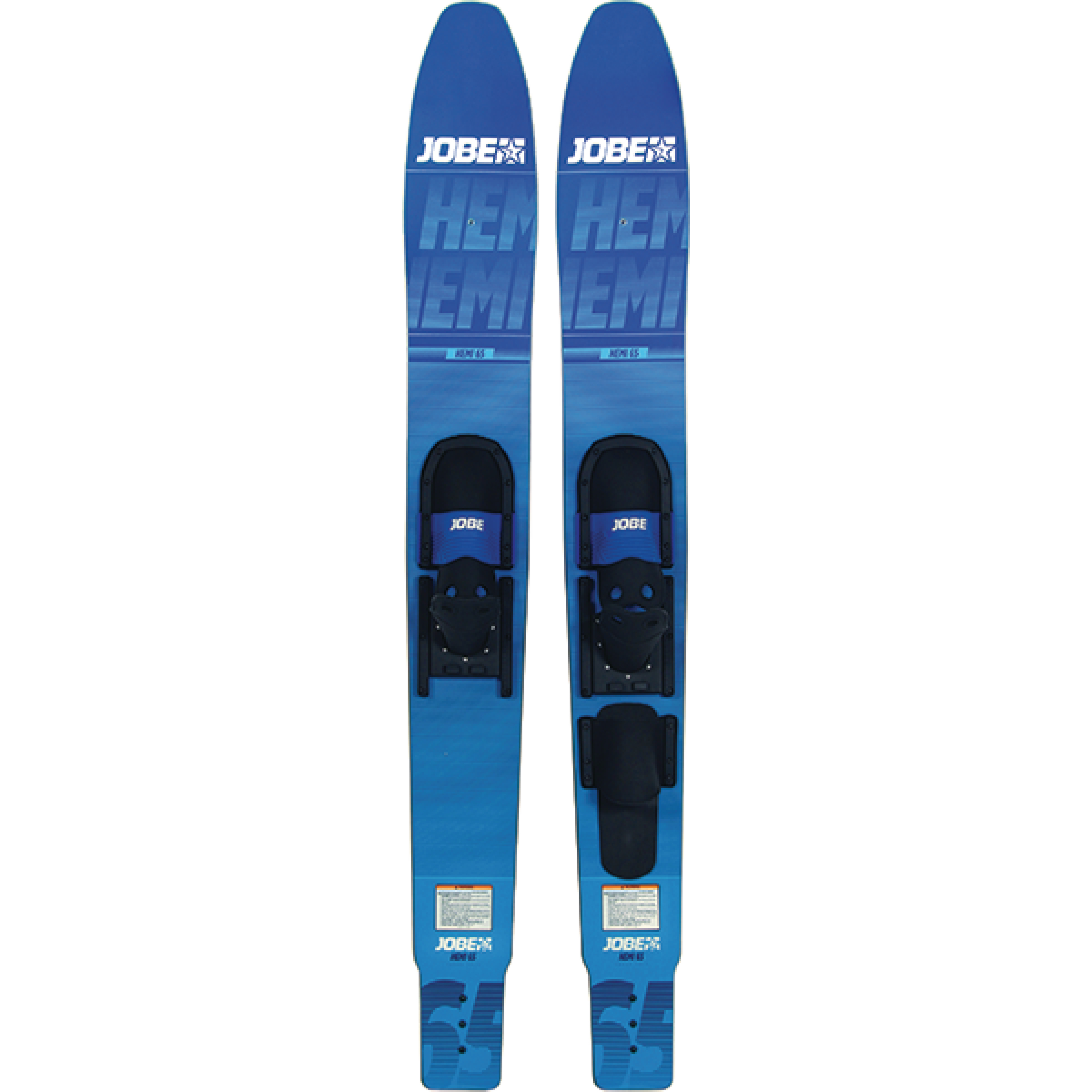 "Jobe 20241800159 Blue Hemi Jr. 59"" Combo Waterskis for Up to 120 lbs."
