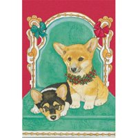 Pipsqueak Productions C887 Welsh Corgi Christmas Boxed Cards - Pack of 10