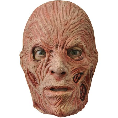 Freddy Krueger Adult Halloween Latex Mask Accessory
