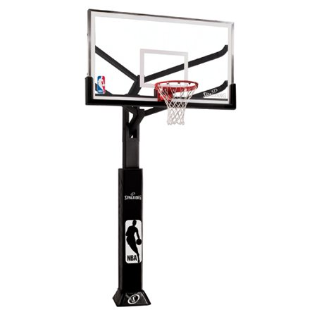 Spalding Arena View In-Ground Basketball Hoop with 72 Inch