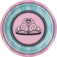 Fairytale Princess 9 Inch Lunch/Dinner Plates (8 ct)