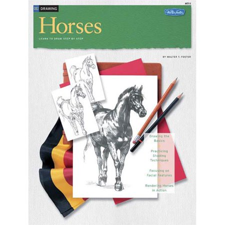 Drawing horses learn to paint step by step for Learning to paint and draw