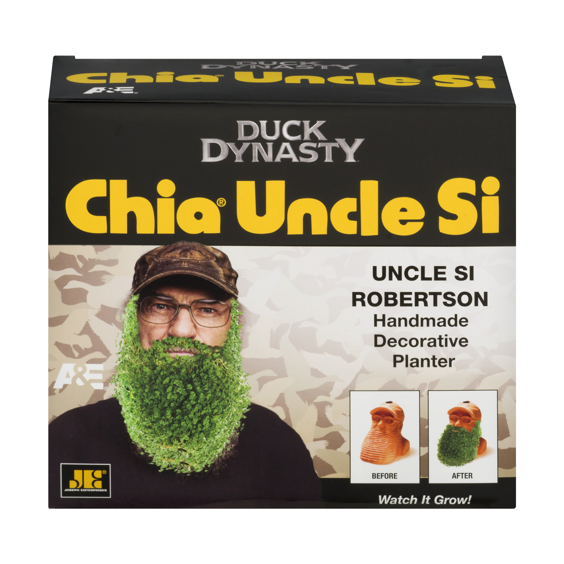 Chia Pet Duck Dynasty Uncle Si, 1.0 CT