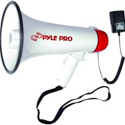 Professional Megaphone/Bullhorn with Siren - Handheld Microphone