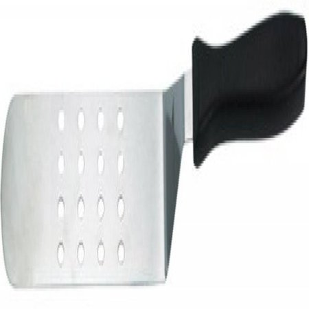World Cuisine Wood Spatula (Paderno World Cuisine stainless steel perforated offset spatula 2 7/8
