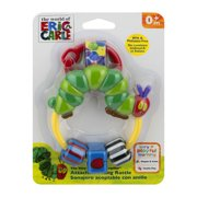 The World of Eric Carle The Very Hungry Caterpillar Attachable Ring Rattle