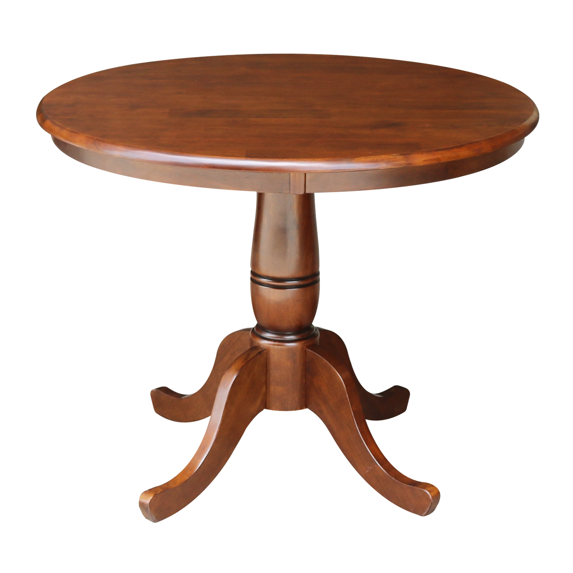 "36"" Round Top Pedestal Table, 28.9""H"