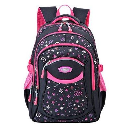 4c6be27afab6 Coofit - coofit school backpack for girls flowers pattern backpacks for  middle school cute bookbag for school - Walmart.com