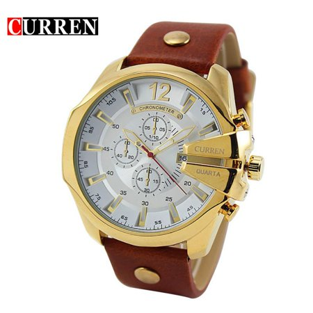 Fashion Casual Business Men High Quality Watch Quartz Analog Sport Wrist Watch Best Gift