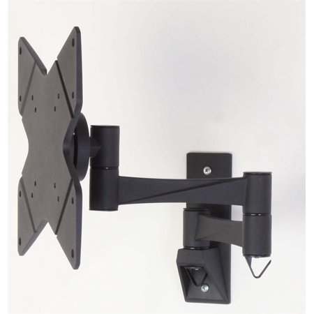 TV Wall Mount with Tilt and Rotation for 10 to 32 inch Flat Screen Monitor - Black (VS180BK001) 10 Inch Mount
