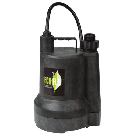 Eco Flow 1 6 Hp Submersible Utility Pump