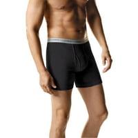 10-Pack Hanes Men's FreshIQ Comfort Flex Extreme Value Waistband Boxer Brief (Solid)