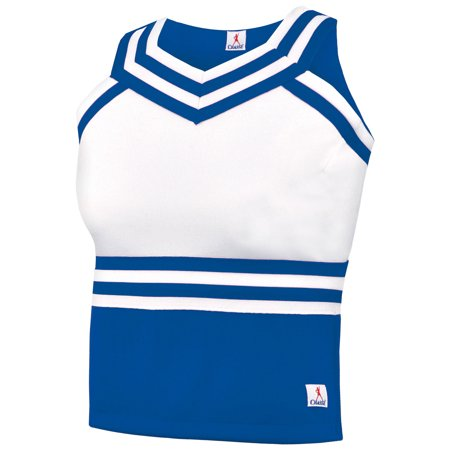 Double Knit Sweetheart Cheer Uniform Shell Top - Youth Girls Sizes