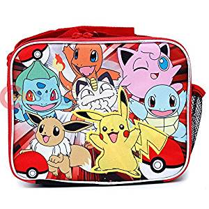 Lunch Bag – Pokemon – Pikachu n Friends Red Black Case 858285 ... 9c41870edea6b
