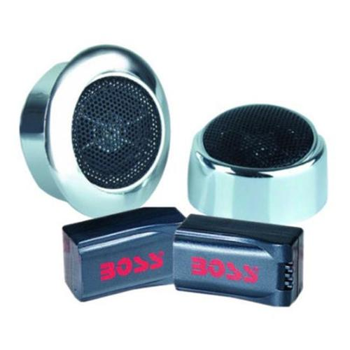 Boss 250W Dome Tweeter with X-over chrome - AVA-TW19