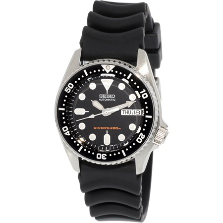 - Men's 5 Automatic SKX013K Black Rubber Self Wind Diving Watch