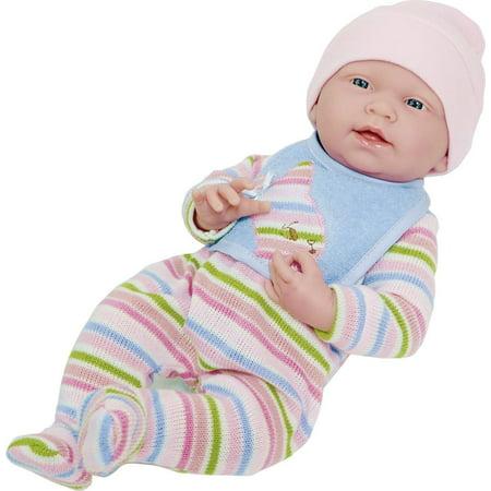 La Newborn by JC Toys All-Vinyl-Anatomically Correct Real Girl 15