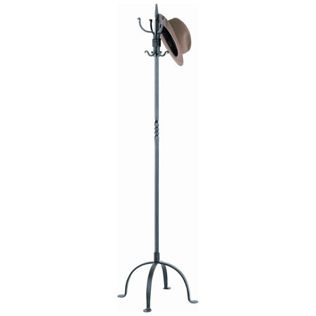 Metal Creations Standard Wrought Iron Standing Coat Rack Walmart Custom Standing Coat Rack Walmart