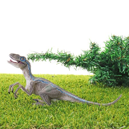 Kids Educational Toys Realistic Dinosaur Figures with Movable Jaws T-rex,  Velociraptor Dinosaur Model Toys - T Rex Model
