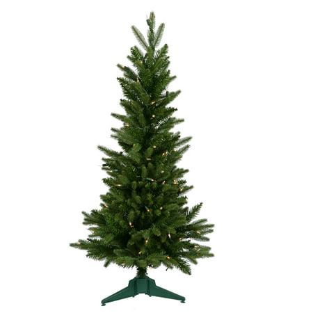 Vickerman Unlit 3' Frasier Fir Artificial Christmas Tree ...