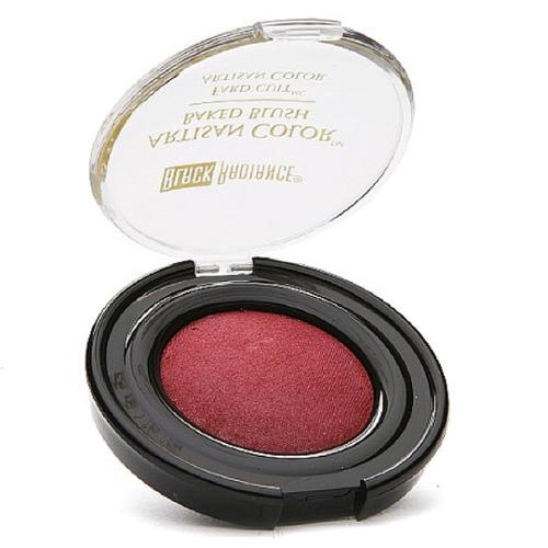 Black Radiance Artisan Color Baked Blush, Warm Berry 0.10 oz (Pack of 2)