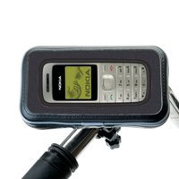 Heavy Duty Weather Resistant Bicycle / Motorcycle Handlebar Mount Holder Designed for the Nokia 1208