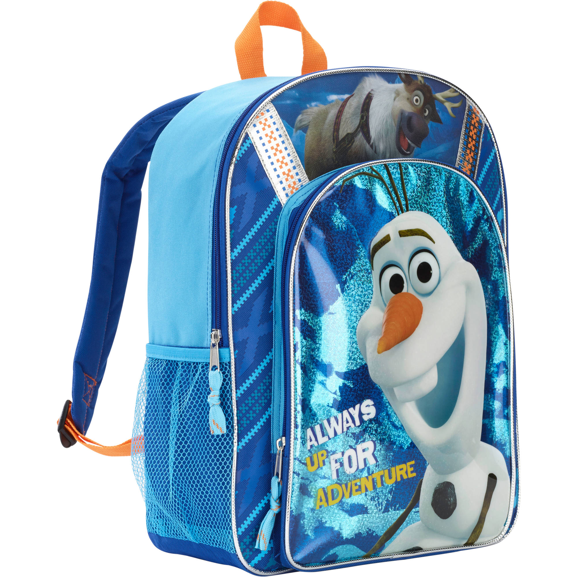 Disney Frozen 16 Inch Olaf Deluxe Front Kids Pocket