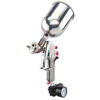 Zimtown 2.0mm HVLP Gravity Feed Spray Gun Air Regulator Auto Air Paint Spray Gun Kit