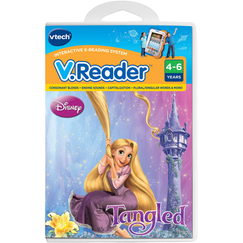 VTech V.Reader Interactive E-Reading System Cartridge, Tangled by Generic