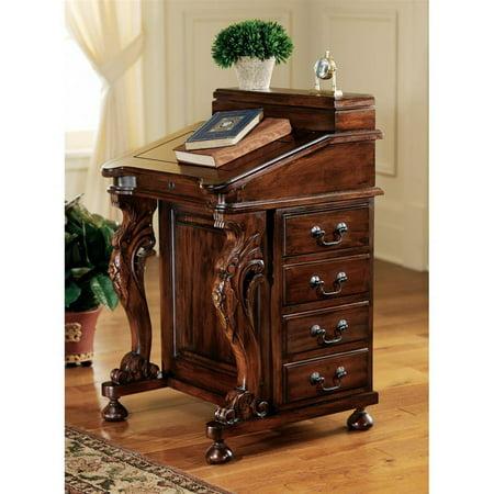 The Captain's Davenport Desk (Mahogany Secretary)