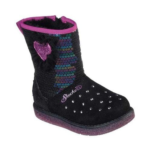 Girls Kids  CHILDRENS  Pink Boots Flashing LED lights multicolour infants
