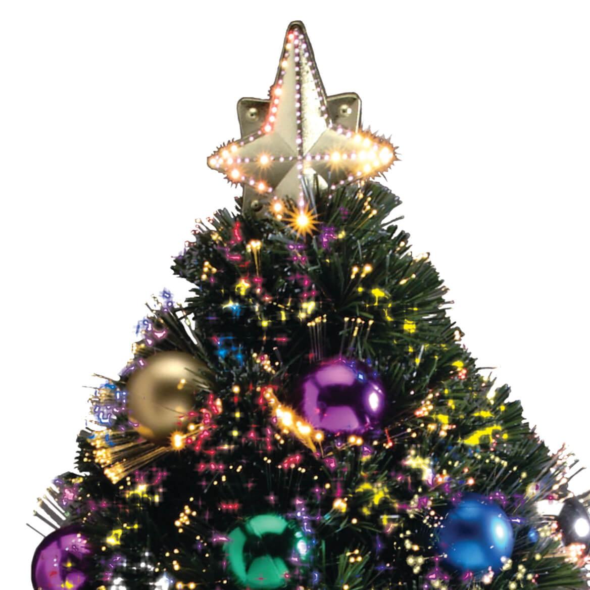 WalterDrake Fiber Optic Christmas Tree by Northwoods Greenery XL ...