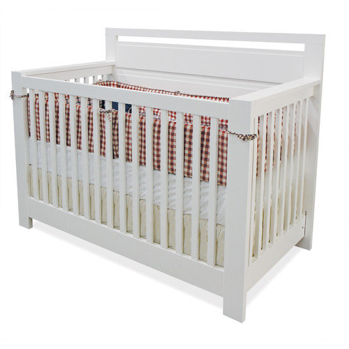 AP Industries Cozy 3-in-1 Convertible Crib