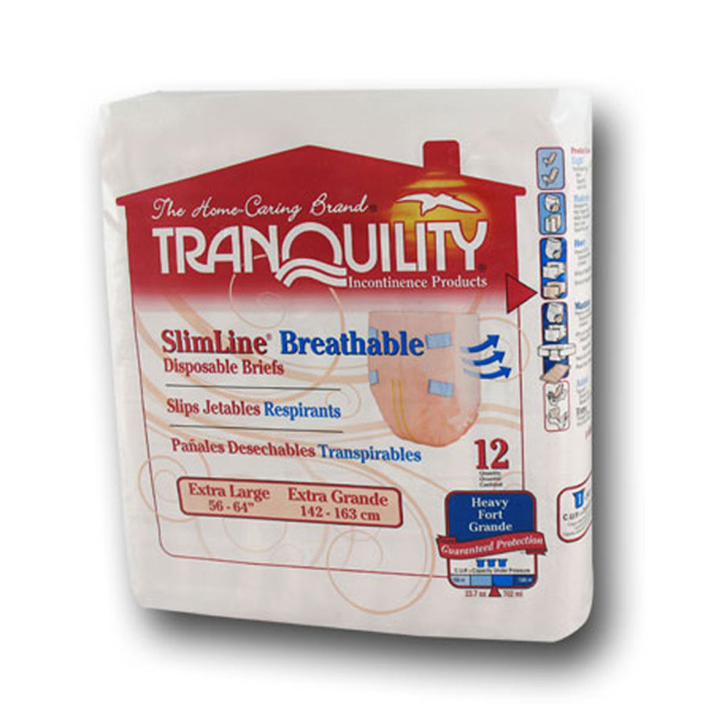 Tranquility 2305/2306/2307 Breathable Briefs-Case Quantities