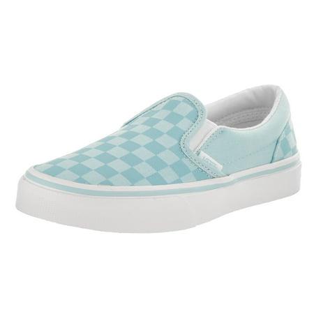 b3122b8aa6d VANS - Vans Kids Classic Slip-On (Tonal Check) Skate Shoe - Walmart.com