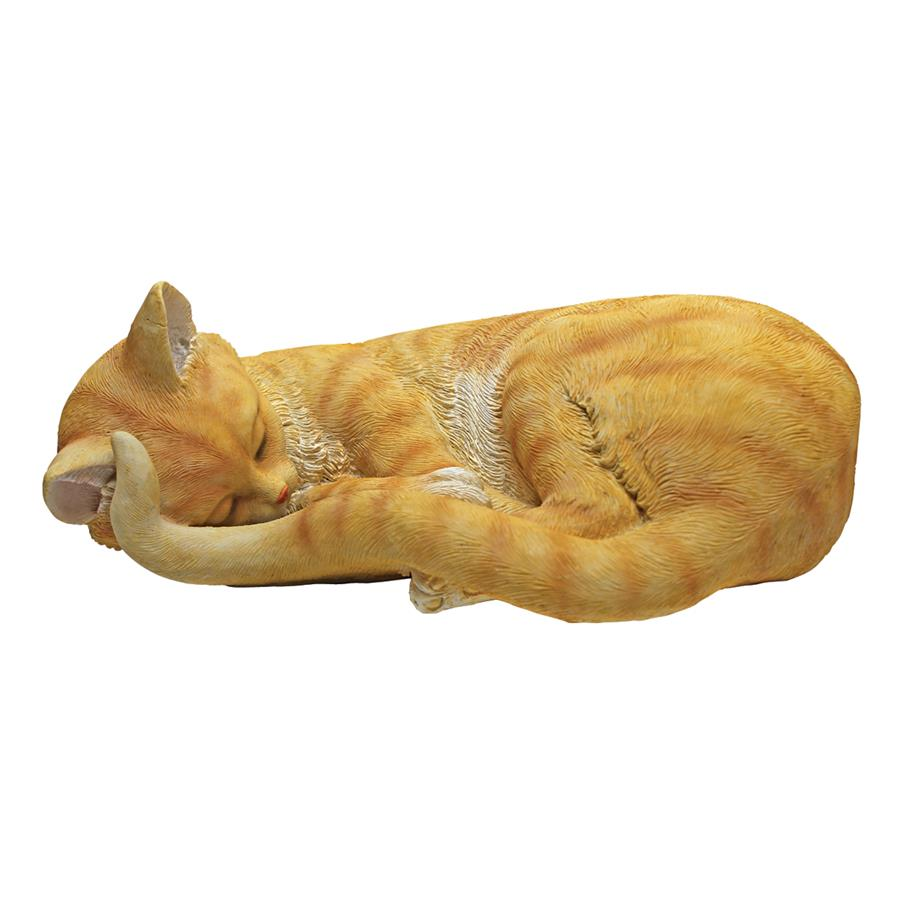 Design Toscano Cat Nap Sleeping Kitten Statue