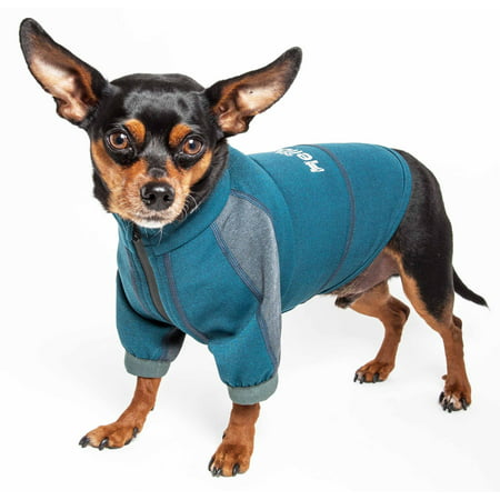 Dog Helios ® 'Eboneflow' Mediumweight 4-Way-Stretch Flexible And Breathable Performance Dog Yoga - Dog Yoda