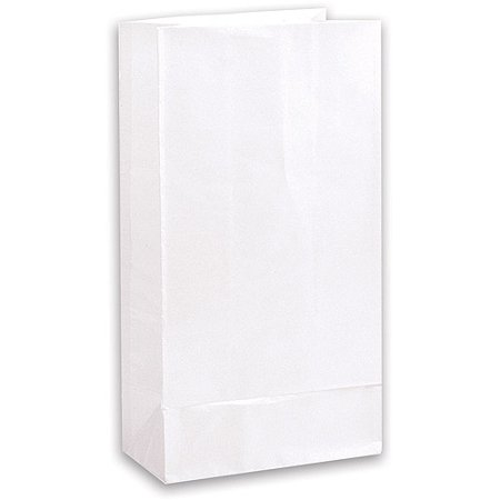 White paper party favor bags 12ct walmart white paper party favor bags 12ct negle Image collections