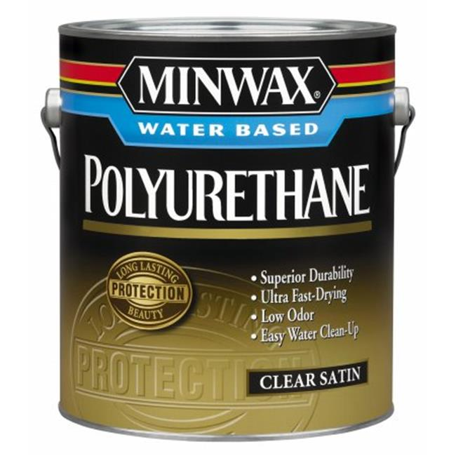 Minwax 1 Quart Minwax Water Based Satin Polyurethane  63025