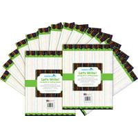 Barker Creek Computer Paper (100 sheets)- Neon Stripe (BC3610)