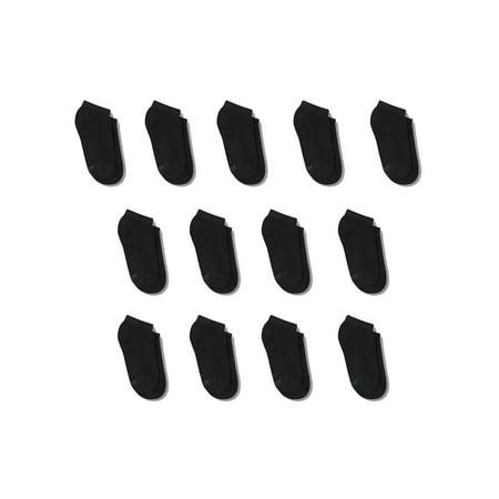 Cushion No Show Socks, 12 + 1 Bonus Pack (Little Boys & Big Boys)