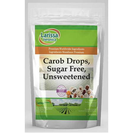 - Carob Drops, Sugar Free, Unsweetened (16 oz, ZIN: 525698)