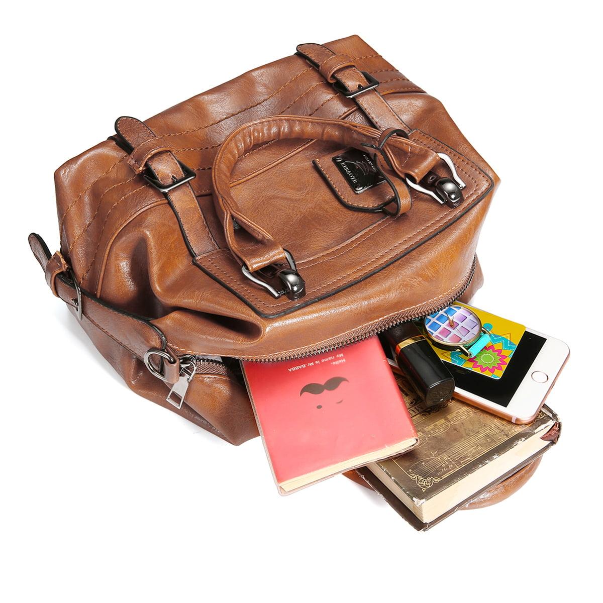Details about  /Women Faux Leather Handbag Shoulder Tote Purse Satchel Messenger Bag AL