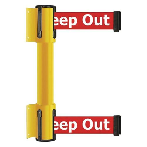 TENSATOR 896T2-35-MAX-RHX-C Belt Barrier, 13 ft, 2 Belts